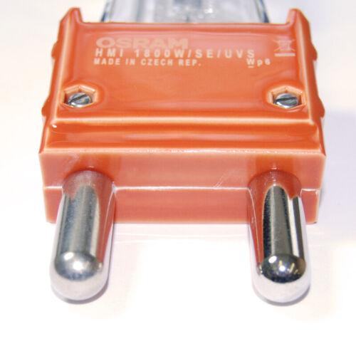 OSRAM HMI 1800W//SE UVS 1800W G38 Base 6000K Metal Halide lamp