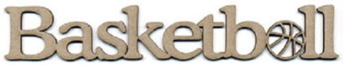 SCRAP FX Chipboard /'BASKETBALL//NETBALL/' Embellishments Choose from 9 designs