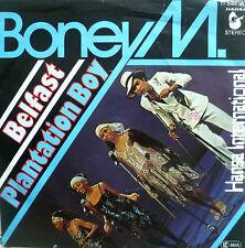 """7"""" 1977 IN MINT- ! BONEY M.  Belfast + Plantation Boy"""