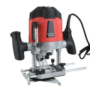1200W-Plunge-Router-Electric-Wood-Routing-Machine-Collet-Variable-Speed-110V