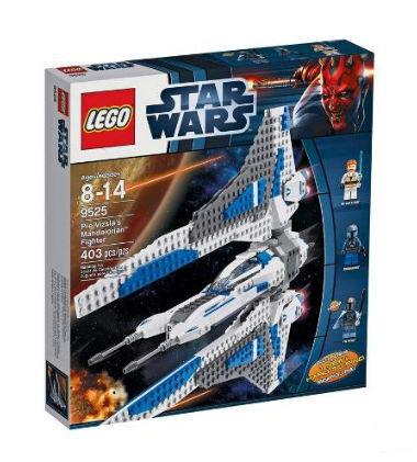 Lego Star Wars 9525 pre Vizsla's mandalorian Fighter nuevo y en su embalaje original