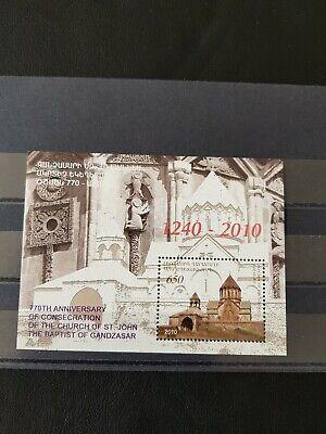 Briefmarken Armenia Gandzasar Block 2010