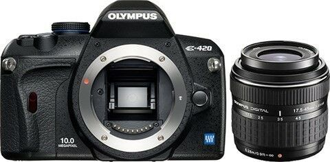 Olympus E-420, 10 megapixels, Perfekt