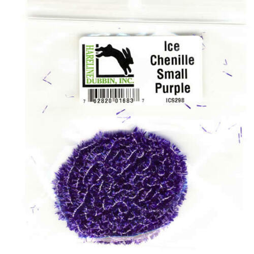 small bag 3 yds     ICS298 purple Ice Chenille