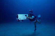 634076 Diver Con Video Submarino Cámara Italia A4 Foto Impresión