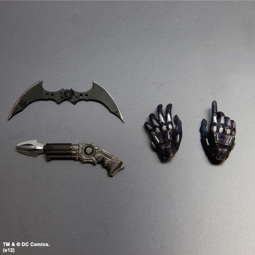 Batman Arkham Asylum ArmoROT Play Arts Kai Batman ArmoROT Asylum Figure NEW from Japan 278dc6