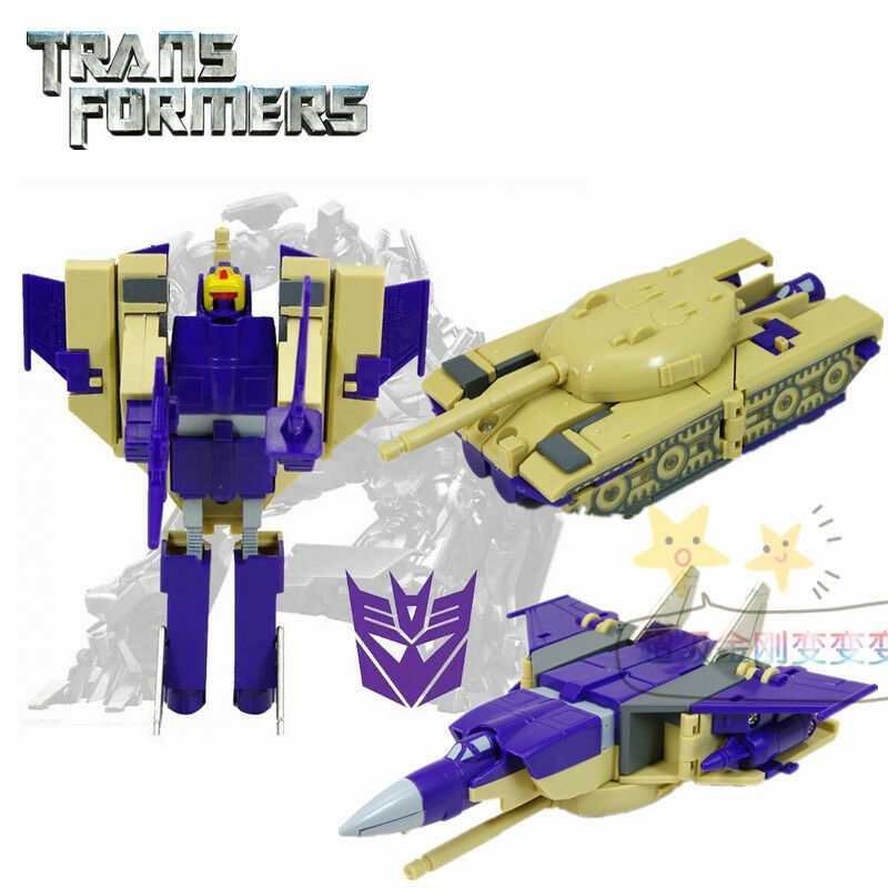 TRANSFORMERS G.1 Blitzwing REISSUE K.O Action Figure Brand New