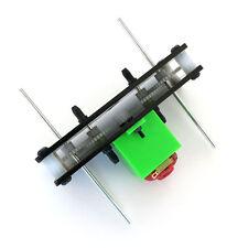 NEW 130 geared motors (C5) Gear Motor Double shaft motor gearboxes DIY