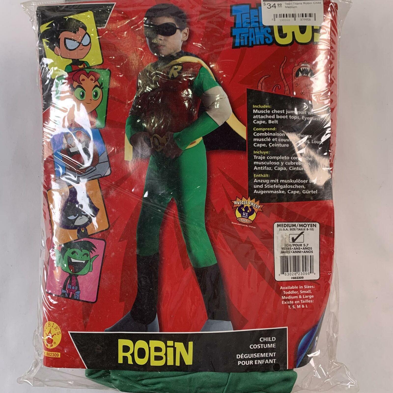 Small Rubies Boys Teen Titans Go Movie Deluxe Cyborg Costume
