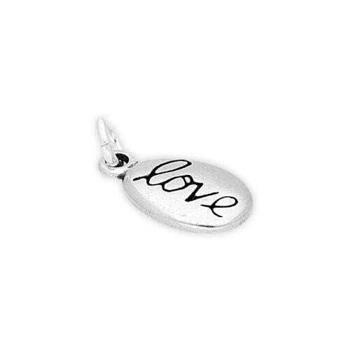 Plata Esterlina 925 Amor Pebble encanto encantos