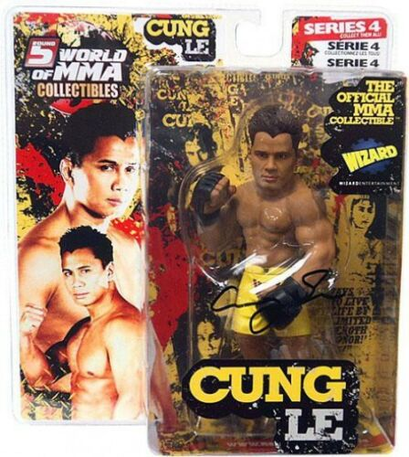 Autographed UFC World of MMA Champions Series 4 Cung Le Action Figure