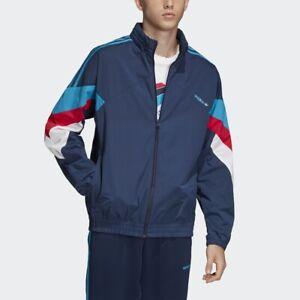 Collegiate Jacket Originals Adidas Navy Details New Dj3449 About Palmeston Windbreaker Men byvYf76g