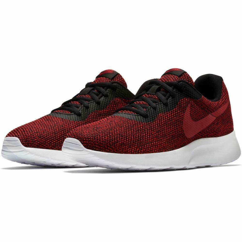 Nike Tanjun SE Running shoes Gym Red Black White AR1941-003 Men's NEW