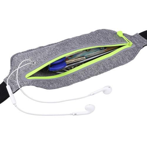 Waterproof Sports Bag Fanny Pack Hip Bum Waist Money Phone Zip Pouch Belt Wallet