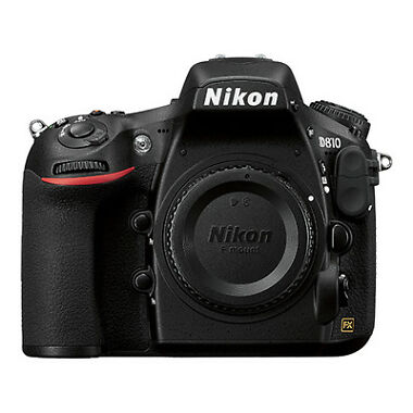 Nikon D810 FX-format 36.3MP FHD DSLR Camera Body
