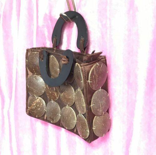 Anime zipped coin purse Coconut shell wristlet
