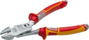 NWS-VDE-Electrician-039-s-Super-Leverage-Side-Cutter-Pliers-200mm