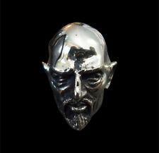 Bronze Anton Lavey Ring Custom Size Handmade Satanic Priest 666 Occult R-176b