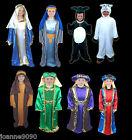 BOYS GIRLS CHRISTMAS NATIVITY PLAY JOSEPH MARY 3 WISE MEN SHEPHERD SHEEP COSTUME
