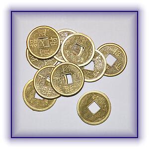 10 Stück Chinesische Glücksmünzen Glücksbringer Münzen Feng Shui Ebay