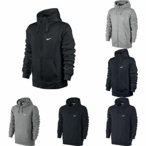 baf5dd8d4be2 Image is loading Nike-Club-Swoosh-Mens-Hoodie-Pullover-styles-UK-