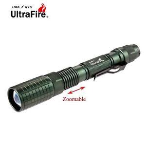 Ultrafire-Zoom-XML-T6-20000-LM-Lampe-de-poche-LEBM18650-Batterie-Torche-BM