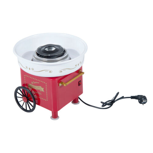 Candy Floss Machine Sugar Cotton Maker Electric Party Home Kids Sweet Red UK