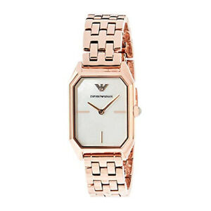 1218464f Details about 100% New Emporio Armani AR11147 Gioia Rose Gold Analog Quartz  Women's Watch
