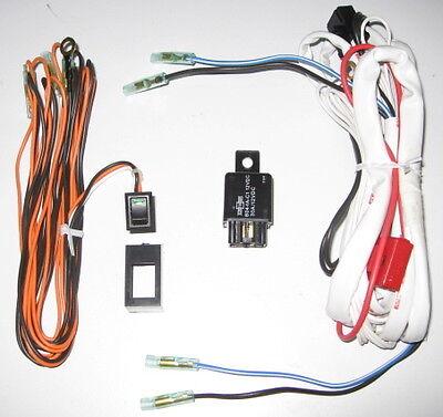 Wire Harness LED Rocker Switch Relay kit 4 CATZ HELLA PIAA BOSCH KC FOG LIGHTS 1