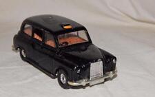 "Corgi Austin London Taxi cab Painted Black Die cast Opening doors 4.5"" L"