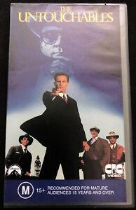 The-Untouchables-Video-cassette-Tape-PAL-VHS