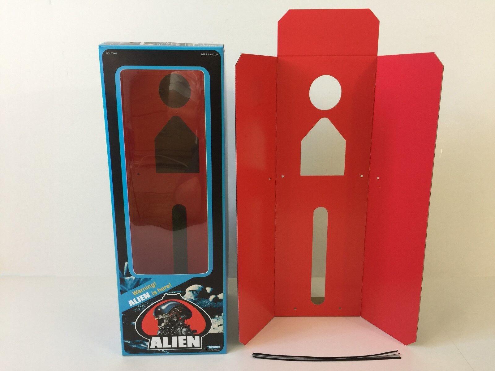 Der vintage - alien - box und beilagen