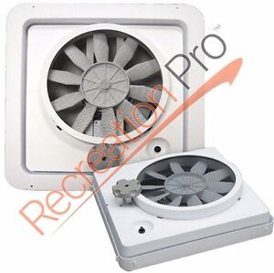 Hengs Vortex 12 Volt Ceiling Vent Fan Replacement Upgrade