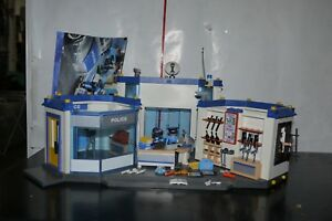Playmobil-4264-Large-Police-Station-Headquarters-99-COMPLETE-SET
