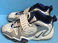 GUC Vintage 1997 Nike Air Zoom High Tops Blue And Silver Size 7.5 Made In Korea