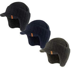 1258d8ea877 Image is loading Scruffs-Peaked-Beanie-Hat-Black-Navy-or-Grey-
