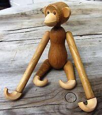 VINTAGE Mid Century Wooden Teak Monkey MCM Japan Kay Bojesen Danish Modern RARE