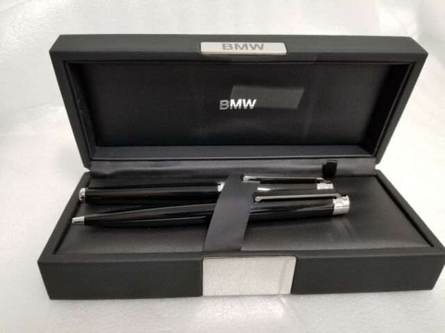 BMW GENUINE ICONIC WRITING SET Fountain Pen and Ball Point 80242410946