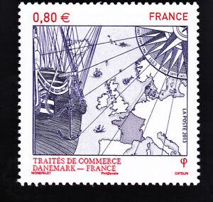 TRAITE-DE-COMMERCE-DANEMARK-FRANCE-YT-4817-2013