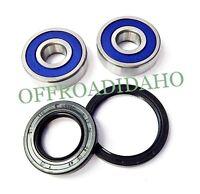 Front Axle Wheel Bearing Seal Kit Yamaha Xv535 Virago 1993 1994 95 96 97 98 1999