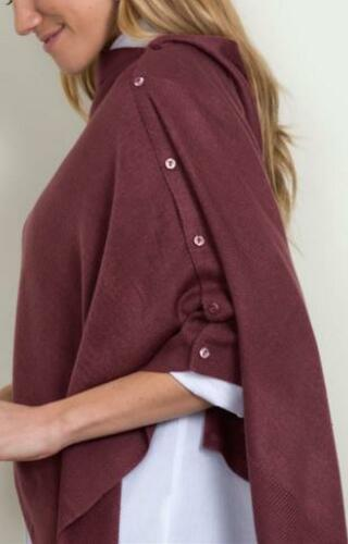 -NEW W//TAGS! CHOICE OF  3 COLORS SIMPLY NOELLE  BORDEAUX WRAPS