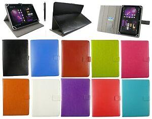 Universal-Funda-Soporte-Folio-para-9-7-034-10-1-034-Tablet-con-Negro-Lapiz-optico