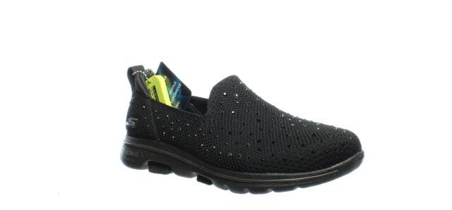 Skechers Womens Go Walk 5 Black Walking Shoes Size 5 (1530139)