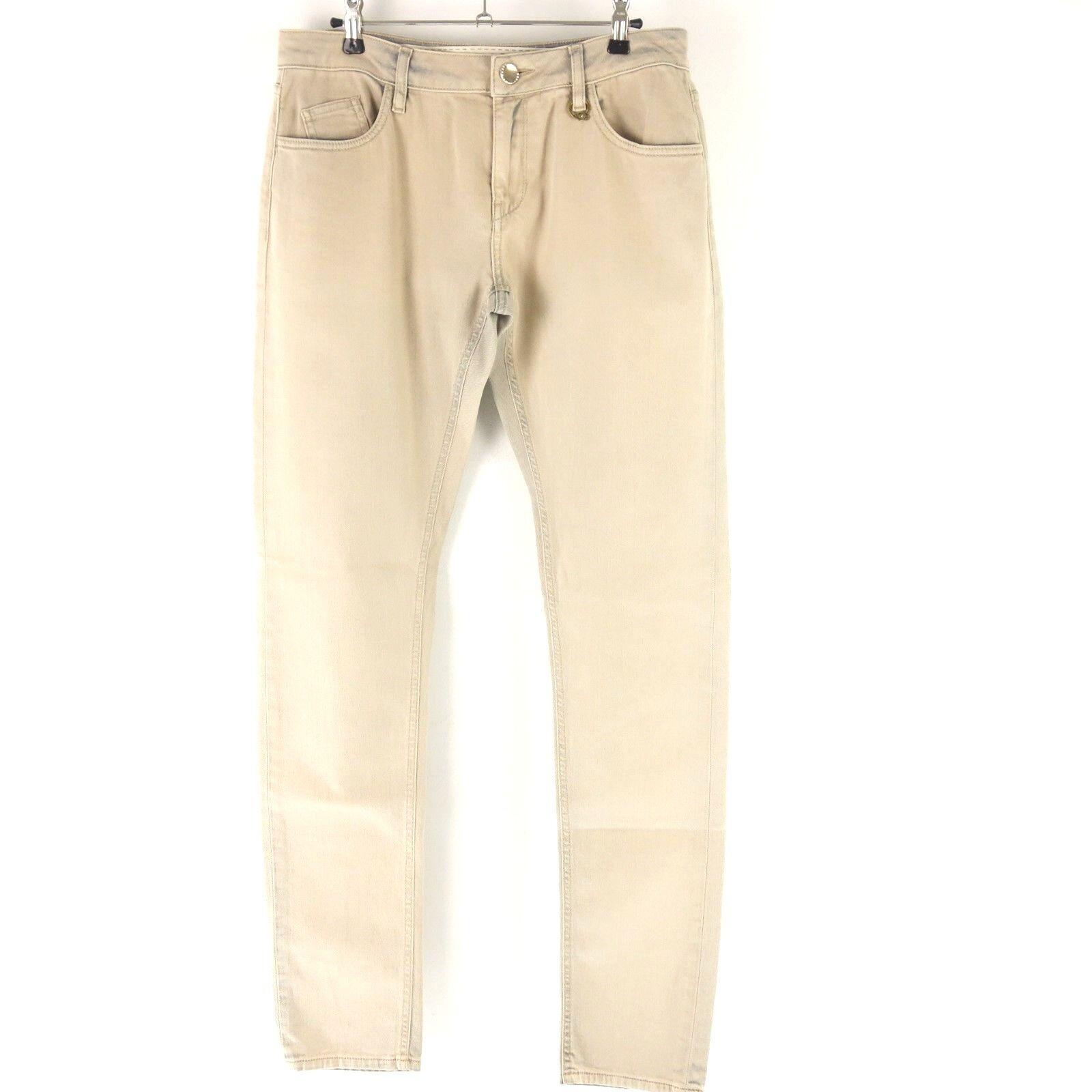 TWIN SET SIMONA BARBIERI Damen Jeans Hose Colourot Straight Gr W31 NP 149 NEU