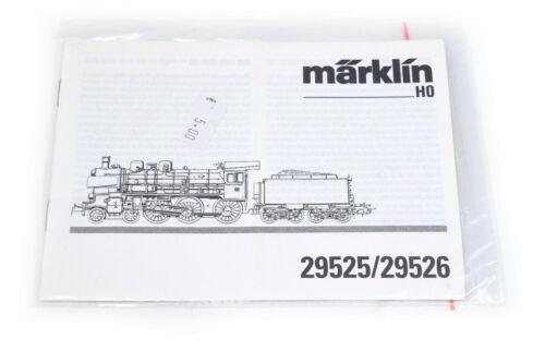 29526 Piste h0 Märklin 29525 notice d/'instructions