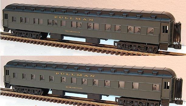 LIONEL- 19093- SCALE COMMODORE VANDERBILT- TWO CAR SLEEPER SET- NEW-