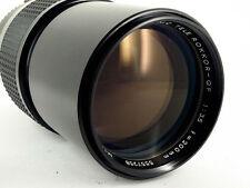 MC TELE ROKKOR-QF 200/3.5 Objektiv Lens Minolta MC