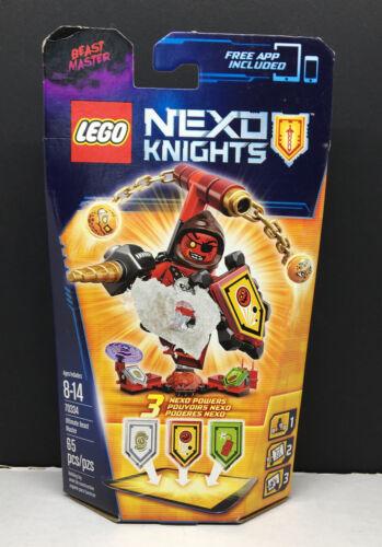 Lego~70334~Nexo Knights~Ultimate Beast Master~2016~New Sealed!