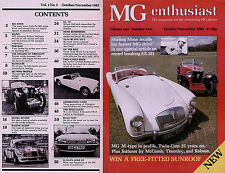 EX. 181 Unique Record Breaker - MG Enthusiast Magazine Vol 1 - No. 2 .. Oct 1983