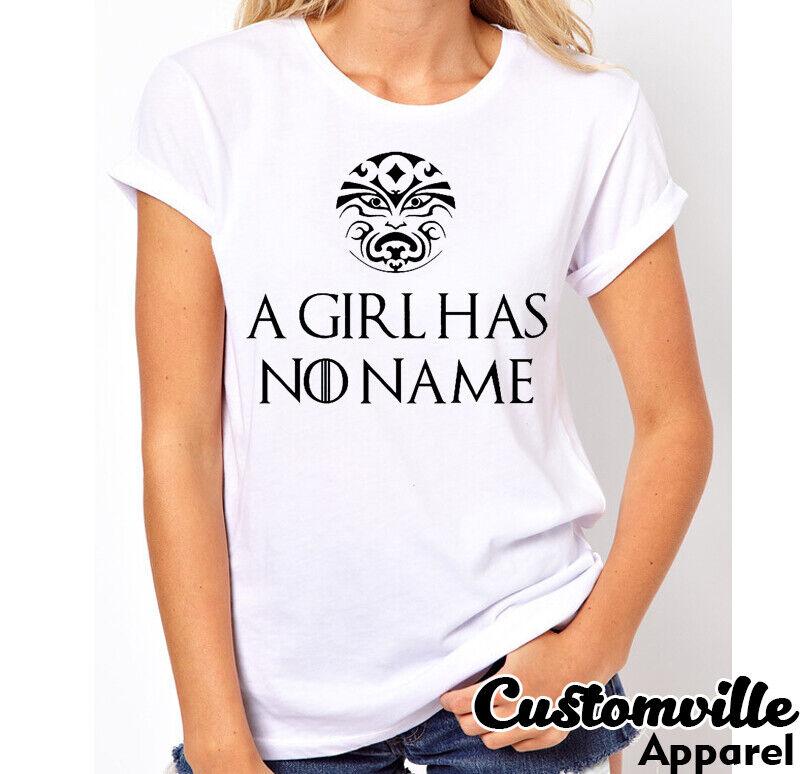 A Girl Has No Name Femme T-shirt Inspiré Par Arya Stark Got
